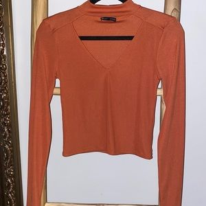 ZARA Cut-Out Long Sleeve